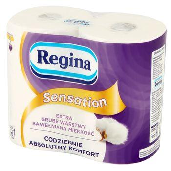 Regina Sensation Papier toaletowy 4 rolki