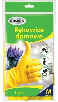 Rękawice wielokrotnego użytku GROSIK Domowe Rozmiar  M