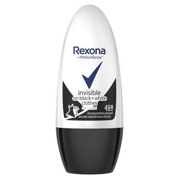 Rexona Invisible Black + White Diamond Antyperspirant w kulce dla kobiet 50 ml