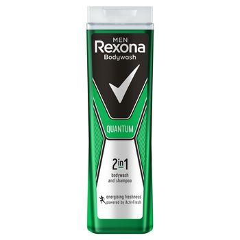 Rexona Men Quantum Żel pod prysznic i szampon 2w1 dla mężczyzn 400 ml