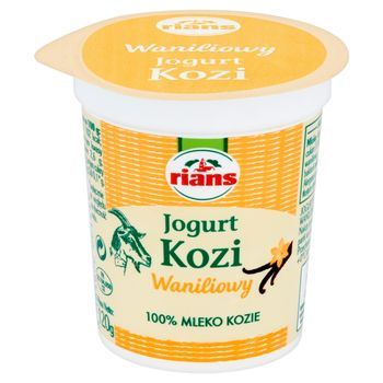 Rians Jogurt kozi waniliowy 120 g