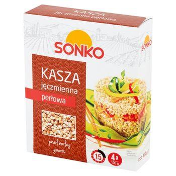 Sonko Kasza jęczmienna perłowa 400 g (4 x 100 g)