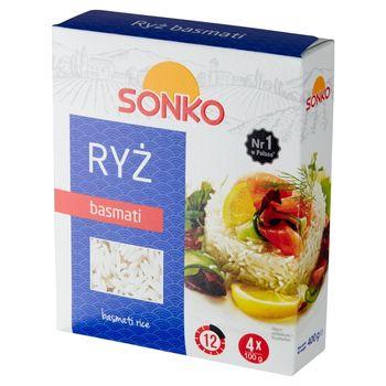 Sonko Ryż basmati 400 g (4 x 100 g)