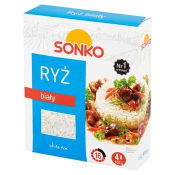 Sonko Ryż biały 400 g (4 x 100 g)