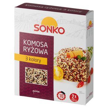 Sonko Komosa ryżowa 3 kolory 200 g (2 x 100 g)