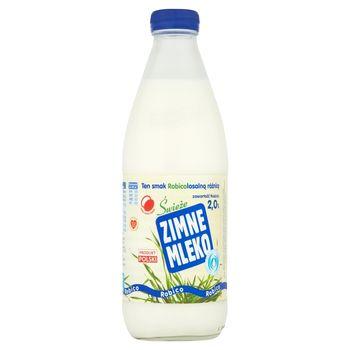 Robico Zimne Mleko świeże 2,0% 1 l