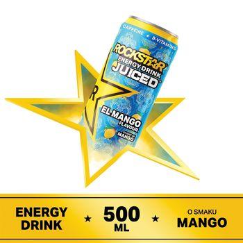 Rockstar Juiced El Mango Gazowany napój energetyzujący 500 ml