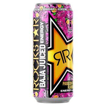 Rockstar Baja Juiced Passion Frutas Gazowany napój energetyzujący 500 ml