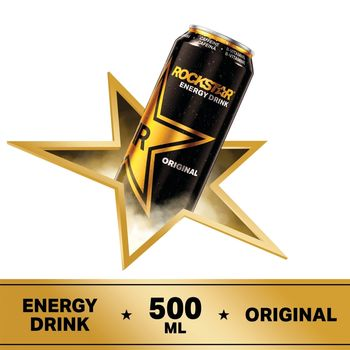 Rockstar Original Gazowany napój energetyzujący 500 ml
