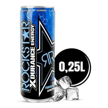Rockstar Xdurance Blueberry Pomegranate Acai Gazowany napój energetyzujący 250 ml