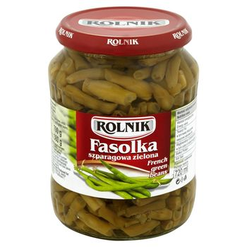 Rolnik Fasolka szparagowa zielona 700 g