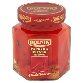 Rolnik Mediterana Papryka smażona bez skórki 300 g
