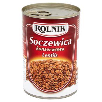 Rolnik Soczewica konserwowa 400 g