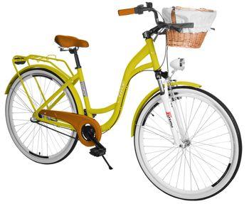Rower miejski GREEN BIKE 28 CTB ALU 3B Alice Koszyk Wiklinowy (mix) RAL042803-811703