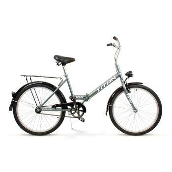 """Rower miejski Suwano TITAN składak 24"""" w pełni wyposażony"""