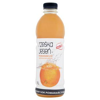 Rześka Jesień Tłoczony sok pomarańczowy 1 l