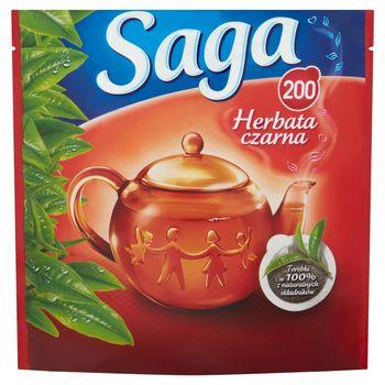 Saga Herbata czarna 280 g (200 torebek)