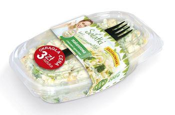 Sałatka makaronowa z brokułami i ogóreczkiem 200 g