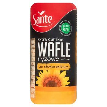 Sante Extra cienkie wafle ryżowe ze słonecznikiem 110 g