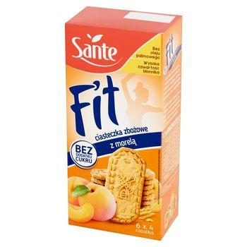 Sante Fit Ciasteczka zbożowe z morelą 300 g (6 x 50 g)