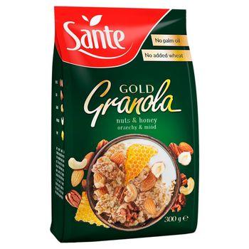 Sante Gold Granola orzechy & miód 300 g