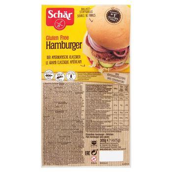 Schär Bezglutenowe bułeczki hamburgerowe 300 g (4 sztuki)