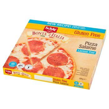 Schär Bontà d'Italia Pizza Salame bezglutenowa i bez laktozy 330 g