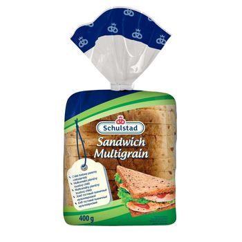 Schulstad Chleb tostowy pszenny wieloziarnisty 400 g