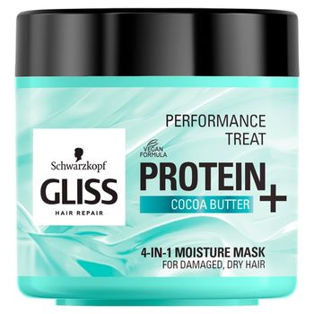 Schwarzkopf Gliss Protein+ Maska nawilżająca 4w1 400 ml