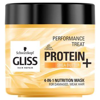 Schwarzkopf Gliss Protein+ Maska odżywiająca 4w1 400 ml