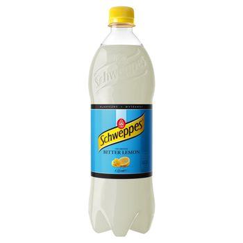 Schweppes Bitter Lemon Napój gazowany 0,9 l