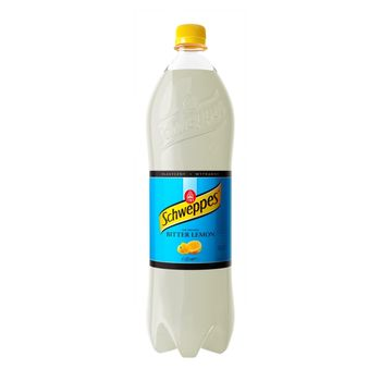Schweppes Bitter Lemon Napój gazowany 1,35 l