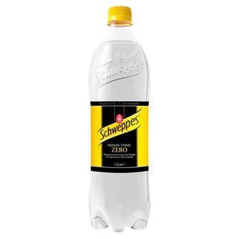 Schweppes Indian Tonic Zero Napój gazowany 0,85 l