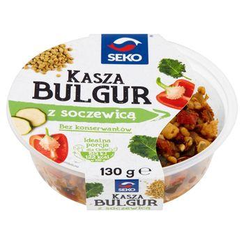 Seko Kasza bulgur z soczewicą 130 g