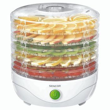 Sencor SFD750WH suszarka do grzybów i żywności 5 sit biała