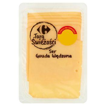 Carrefour Targ Świeżości Ser gouda wędzona 150 g