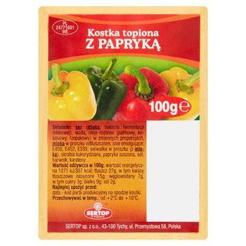 Sertop Tychy Kostka topiona z papryką 100 g