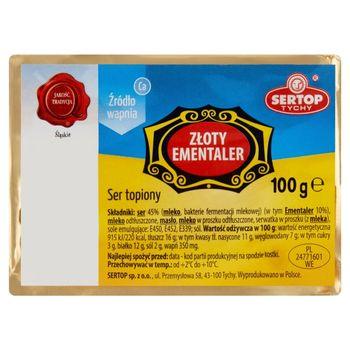 Sertop Tychy Ser topiony złoty ementaler 100 g