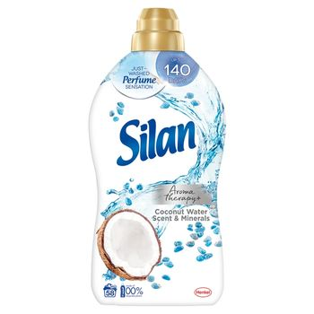 Silan Aromatherapy+ Coconut Water Scent & Minerals Płyn do zmiękczania tkanin 1450 ml (58 prań)