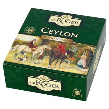 Sir Roger Ceylon Herbata czarna ekspresowa 200 g (100 torebek)