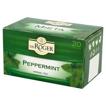 Sir Roger Mięta Herbatka ziołowa 30 g (20 torebek)