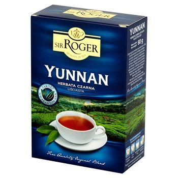 Sir Roger Yunnan Herbata czarna liściasta 80 g