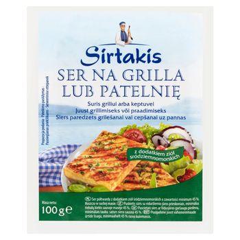 Sirtakis Ser na grilla lub patelnię z dodatkiem ziół śródziemnomorskich 100 g