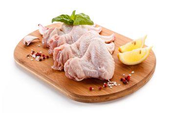 Skrzydła z kurczaka tacka 4 szt. (0,4-0,6 kg)