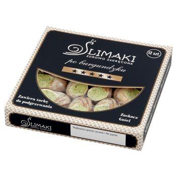 Ślimaki Zdrowo Zakręcone Ślimaki po burgundzku 120 g (12 sztuk)
