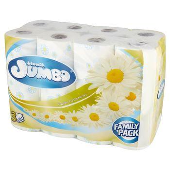 Słonik Jumbo Papier toaletowy rumiankowy 24 rolki