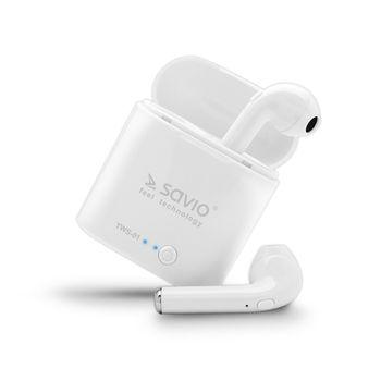 Słuchawki douszne SAVIO BT TWS-01