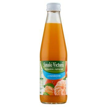 Smaki Victorii Naturalnie mętny sok z mandarynek 250 ml