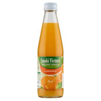 Smaki Victorii Naturalnie mętny sok z pomarańczy 250 ml