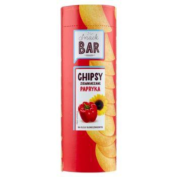 Snack Bar Chipsy ziemniaczane papryka 100 g